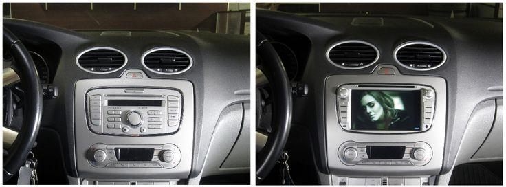 AutoPC ennen ja jälkeen asennuksen, Ford Focus -09