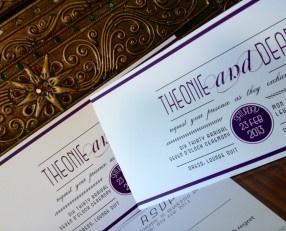 #Wedding_Invitation @agweddingsasia  #Melbourne Theonie & Dean