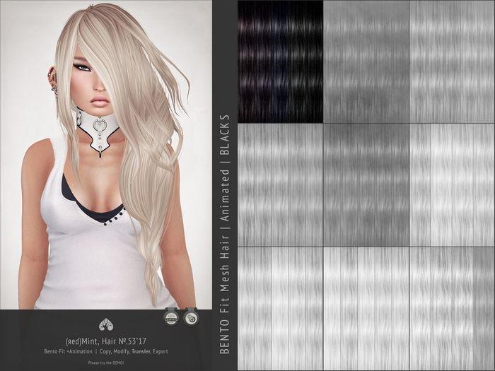 (r)M Hair №.53'17 (Bento Hair +Animated) [Kitely Market]