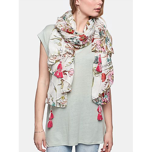 Sjaal, Scarf Multi Flower - Costes