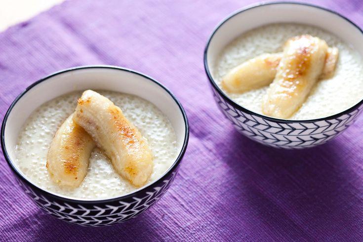 Kokosowy pudding z tapioki