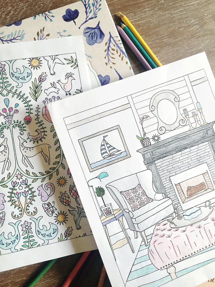 23 best home decor coloring book images on pinterest