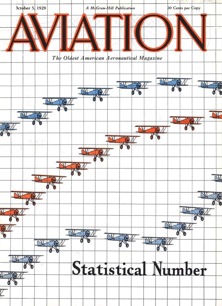 Statistical number. Aviation, October 5, 1929.