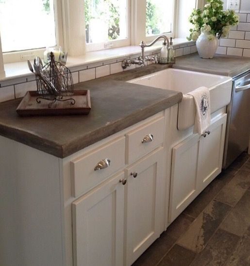 Best 25 Concrete counter ideas that you will like on Pinterest