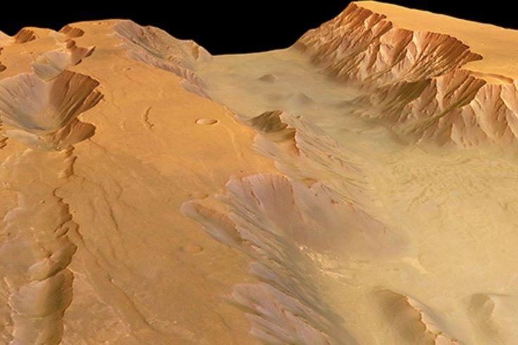 Volcanic Eruptions Rocked Mars' Huge Canyon Valles Marineris   Space.com 7/25/17