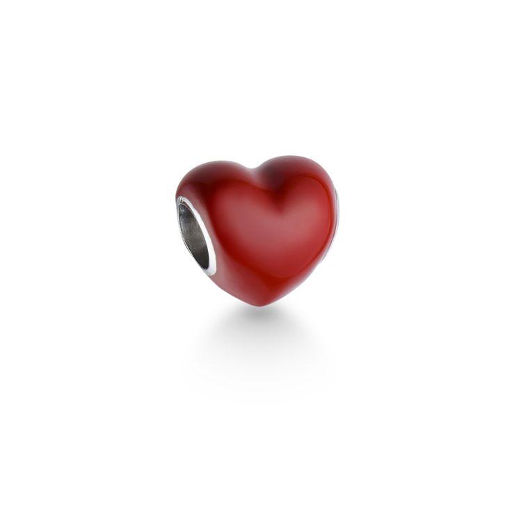 Pingente Coração Vermelho Life