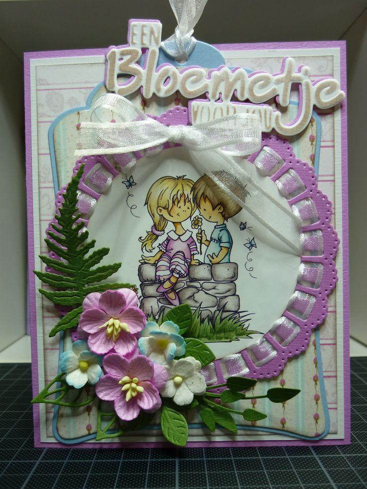 (EK) Een bloemetje voor jou!! Challenge MD #149