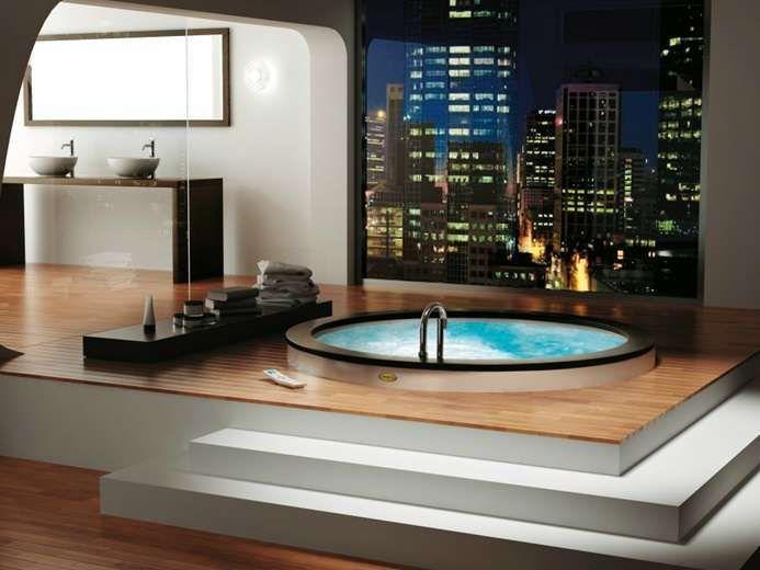 Scegliere la vasca idromassaggio - Vasca da bagno rotonda | kád ...