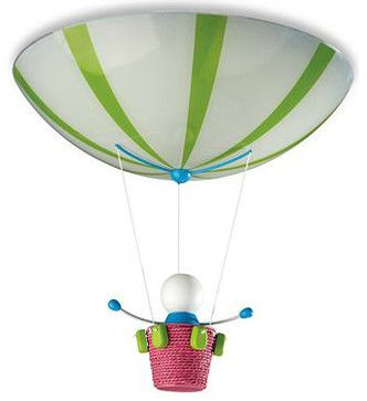 Kidsplace Ceiling Light, Hot Air Balloon - eclectic - Kids Ceiling Lighting - Philips