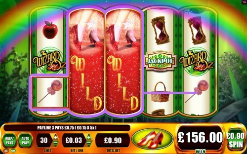 The wizard of of - Ruby slippers slot BigWin! You can find hundreds of Big Win pictures and more videos here: http://www.bigwinpictures.com