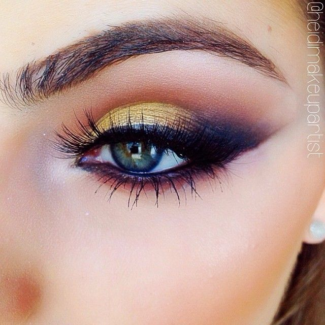 Think outside the box and use bright eye shadows for a stunning, exotic look…
