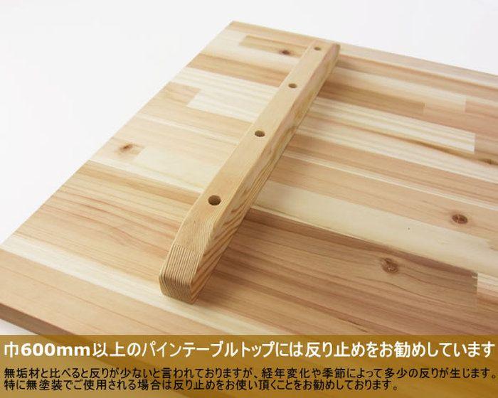 テーブルトップ反り止め(2本)【25×40×700mm】