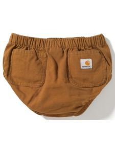 OMG little tiny carharttsfor a baby boy adorable Carhartt Infants' Diaper Cover - boy or girl I need this!! You can take the girl out of the country but ya can't take the country out of the girl ;)