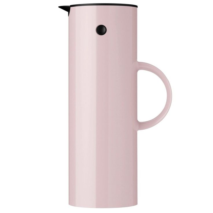 Lavender Pink Classic Vacuum EM77 jug by Stelton. pretty in Pink, perfect for coffee, tea, a flask for picnics or whatever you choose. Stylish award winning Danish design.