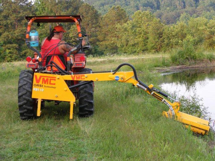 small tractor boom mower - Google Search