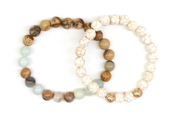 The Promised Land Stone Bracelets Collection Reminds us that God Never Breaks His Promises. Elevate your Faith with our Christian Jewelry and Bracelets.