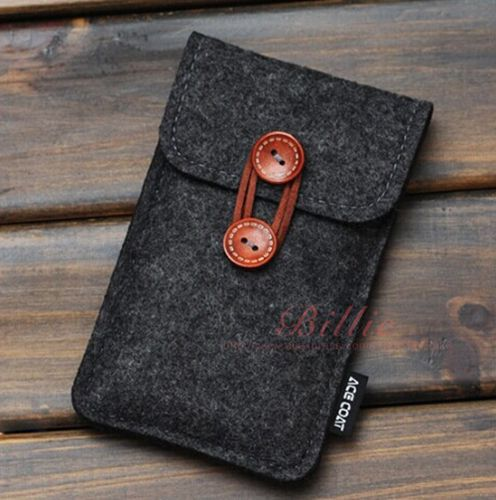 Телефон сумка для iPhone 6 плюс 5.5 дюймов чехол для iPhone 6 4.7 дюймов сумки мобильный телефон мешки чехол чехол крышка шерсть войлок кошелек купить на AliExpress