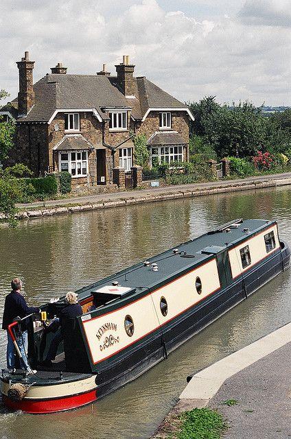 Norton Junction - Grand Union Canal, Northamptonshire, England
