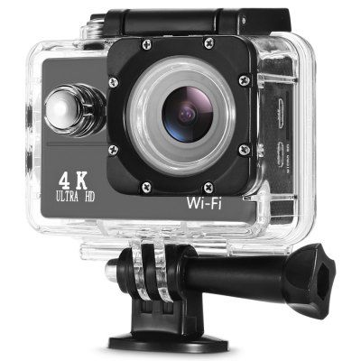 Just US$29.99 + free shipping, buy F60 4K 30fps 16MP WiFi Action Sports Camera online shopping at GearBest.com.