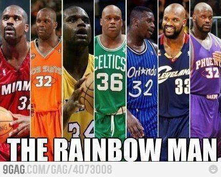 #NBA #BASKETBALL #SHAQ LOL