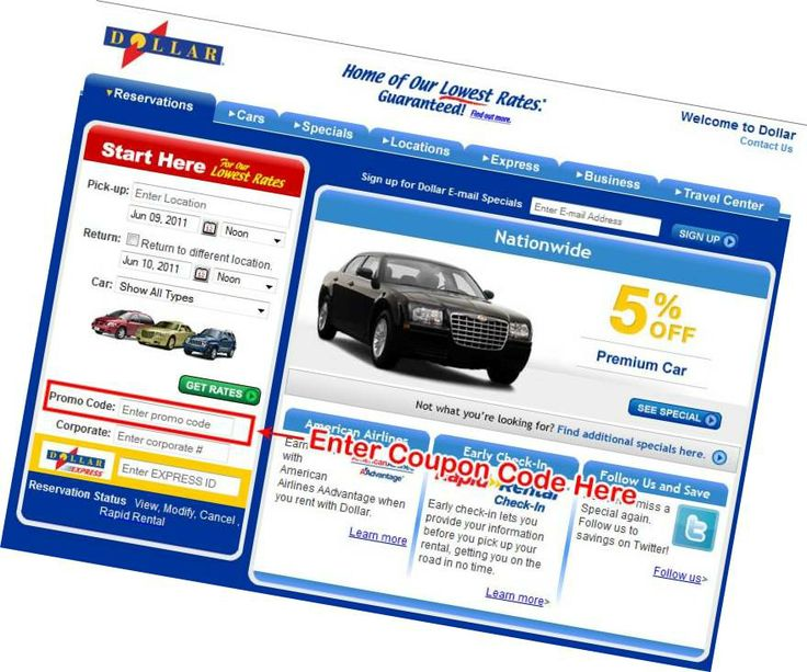 Fast Dollar #CarRental Coupons Via Online Photo Of Dollar Car Rental Coupons Website For Hawaii Trip