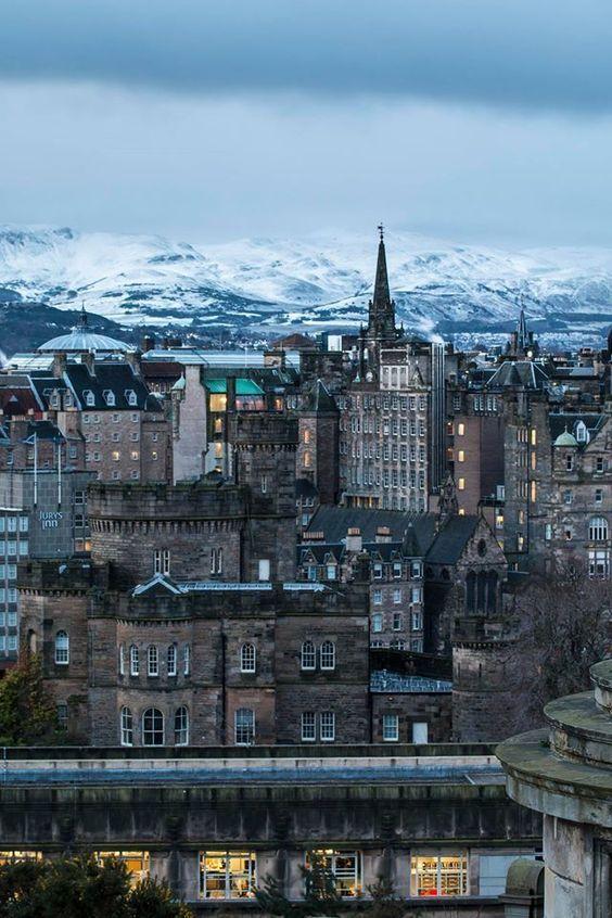 In Edinburgh, Scotland.
