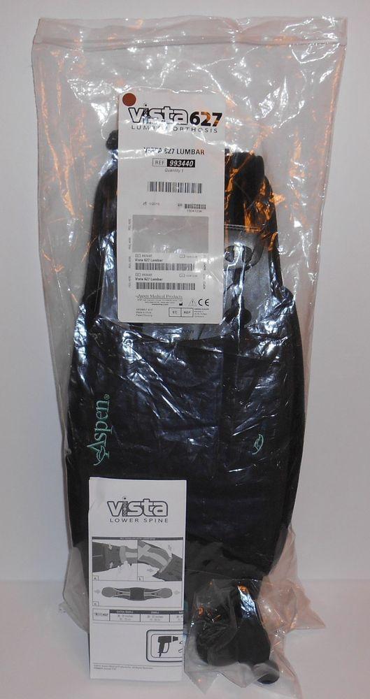 Aspen Vista 627 Lumbar Orthosis Back Brace 993440 Adjustable