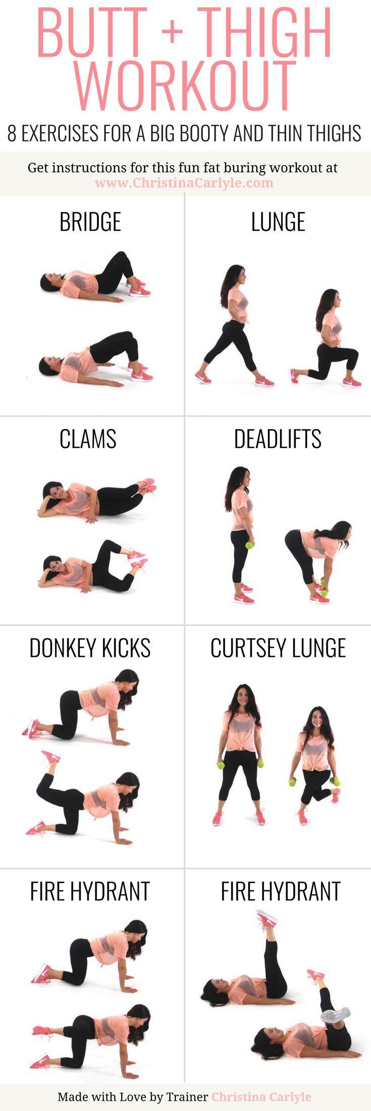 133 Bedste bentræning billeder på Pinterest Butt Workout-1661