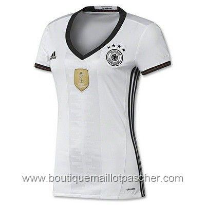 Maillot de foot pas cher femme Allemagne Euro 2016 Domicile