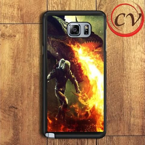 The Witcher Game Dragon Fire Samsung Galaxy Note 5 Case