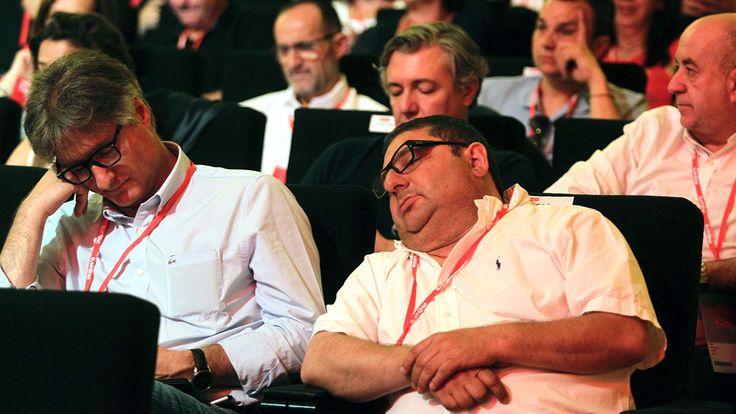 PRIMEROS DISCURSOS DEL CONGRESO DEL PSOE PROVOCA SUEÑO http://www.eldiariohoy.es/2017/06/primeros-discursos-del-congreso-del-psoe-provoca-sueno.html?utm_source=_ob_share&utm_medium=_ob_twitter&utm_campaign=_ob_sharebar #psoe #politica #españa #gente #denuncia #corrupcion #Pedro_Sanchez #SusanaDiaz
