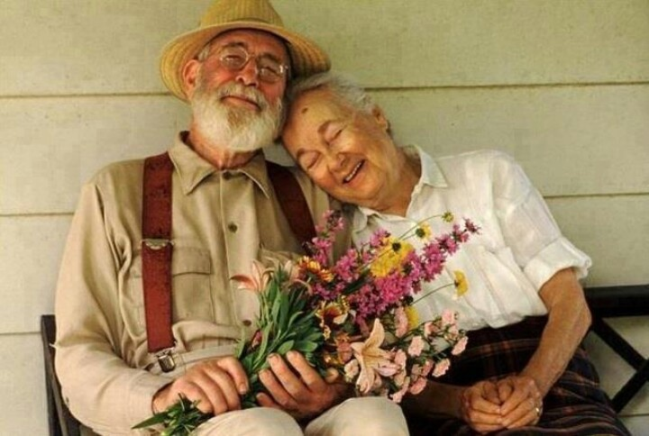 Счастье в старости картинки практике