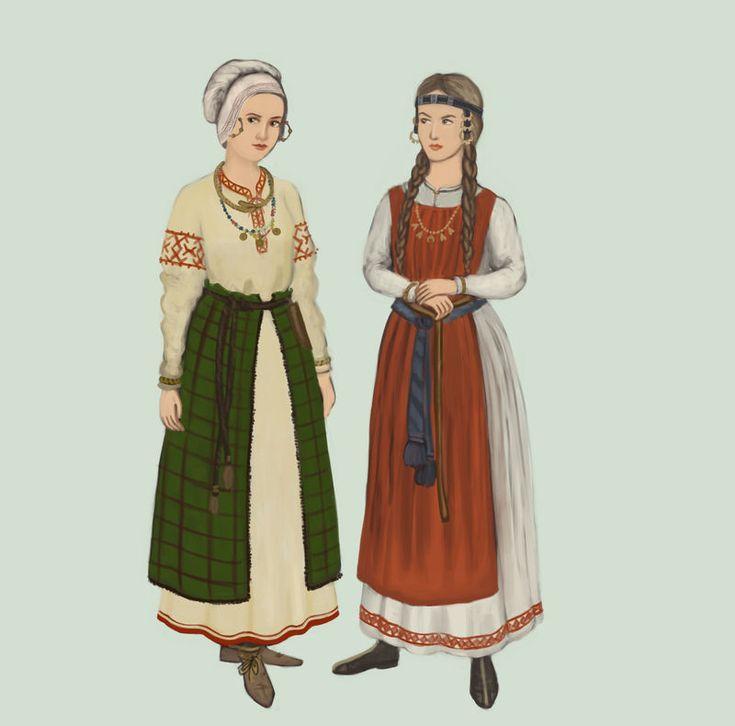 костюм славян в картинках отдых