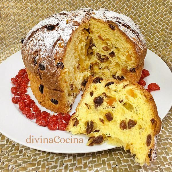 Esta receta de panettonefácil, es una versión simplificada de la original, perocuando lo pruebes no lo notarás!!. Es un dulce tipico italiano en Navidad.