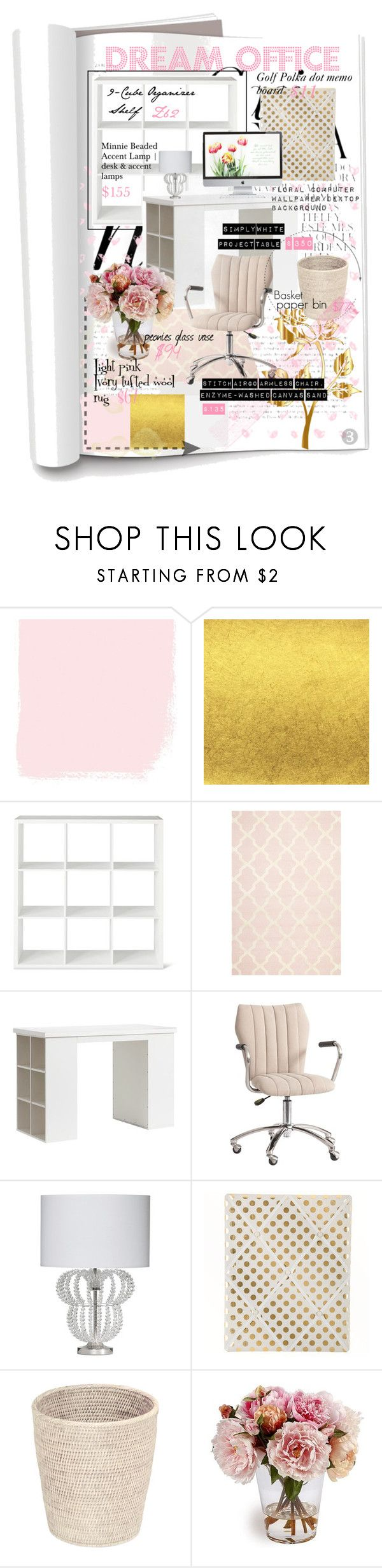 Threshold home decor shop for threshold home decor on polyvore -  Dream Office By Mhollins29 On Polyvore Featuring Interior Interiors Interior Design