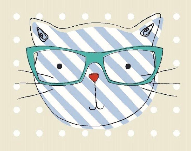 'Cool Cats', Fryett's Fabrics