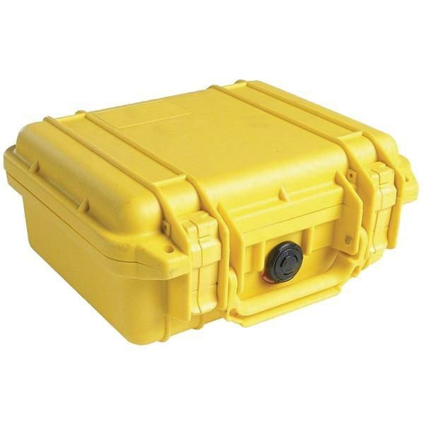 Pelican 1200-000-240 1200 Protector Case with Pick N Pluck Foam (Yellow)