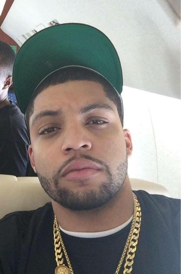 Ice cube son O'shea Jackson. . So fine