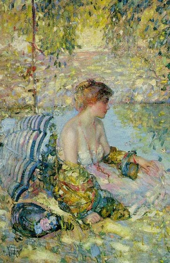 ► Richard E. Miller ~ American Impressionist painter