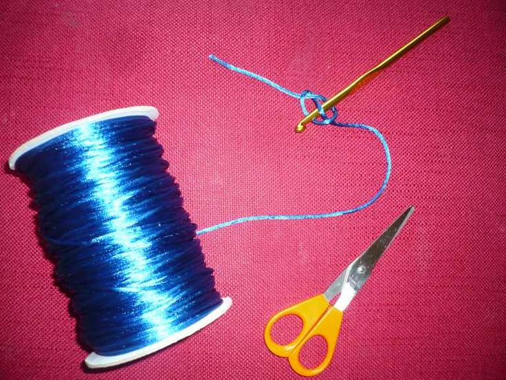 Wie macht man eine einfache Spirale Crochet Lei.