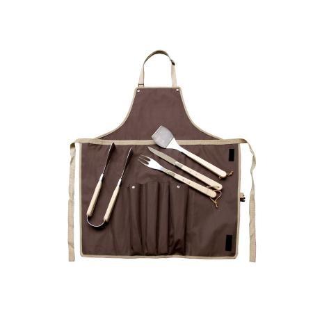 Set barbecue 4 pièces & tablier par Baladéo