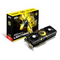 MSI LIGHTNING (V307-001R)  Triple Force Architecture - Triple Level Signals - Show the real-time GPU load by different colors. - TriFrozr Thermal Design Triple PWM fans with Independent Control System on - Pure Digital PWM Control Digitally controlled GPU Memory and VDDCI Twin BIOS & Enhanced Power - Twin BIOS Separated BIOS chips for grgular use and LN2 overclocking - Enhanced Power - 12 GPU phases and 3 Memory phases on a custom designed 12 layers PCB for amazing overclocking potential…