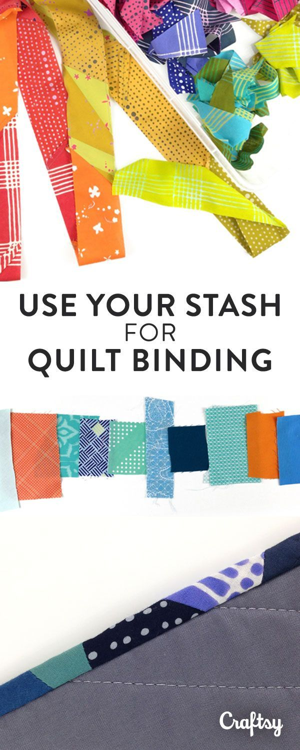 Our 2016 Quilt Design Fellowship Winner, Sheri Cifaldi-Morrill, is sharing her smart strategy for making scrappy, stash-busting quilt bindings.