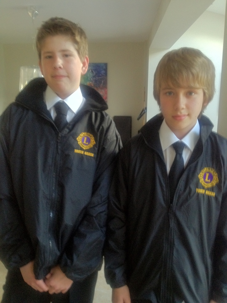 Luke and William  - Lions Youth Band