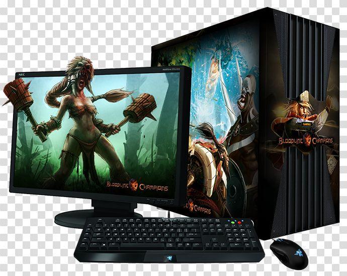 Download Gaming Computer Png Transparent Image For Designing Gaming Computer Computer Custom Pc