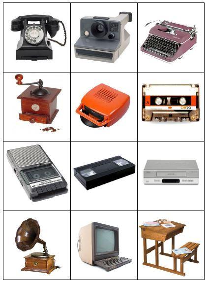 Les objets d'hier et d'aujourd'hui - Fofy à l'école | d ...