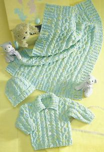 NEWBORN MATINEE JACKET KNITTING PATTERN | FREE KNITTING PATTERNS