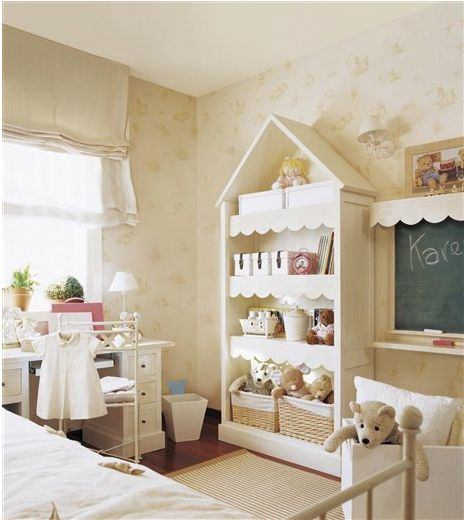 Cute scalloped shelves |Pinned from PinTo for iPad|