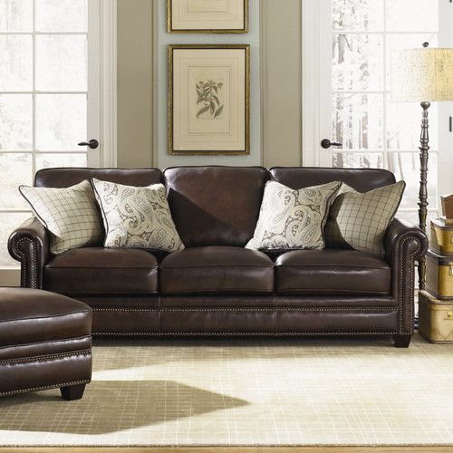 Found It At Wayfair   Burke Leather Sofa