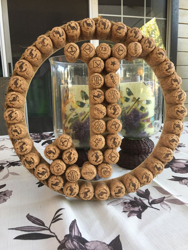 A personal favorite from my Etsy shop https://www.etsy.com/listing/467230872/14-champagne-cork-j-wreath-door-hanger